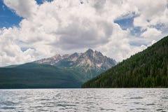Het Meer van de zalm, Idaho stock afbeelding