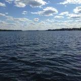 Het meer van de zomer Royalty-vrije Stock Foto