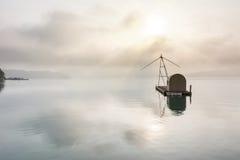 Het Meer van de zonmaan Stock Fotografie