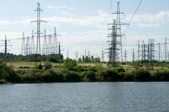 Het meer van elektriciteit stock foto