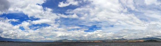 Het Meer van Erhai Stock Foto