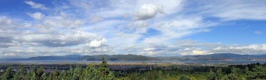 Het Meer van Erhai Stock Afbeelding