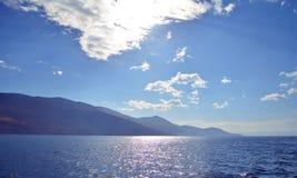 Erhai lake.china royalty-vrije stock afbeelding