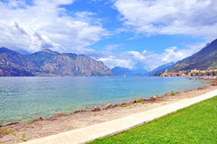 Het meer van Garda Royalty-vrije Stock Foto