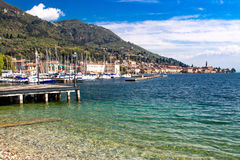 Het meer van Garda Stock Foto's