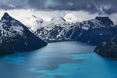 Het Meer van Garibaldi royalty-vrije stock afbeeldingen
