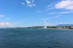 Het meer van Geneve Stock Fotografie