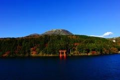 Het meer van Hakone Royalty-vrije Stock Foto