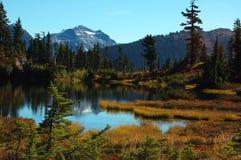 Het meer van het beeld royalty-vrije stock afbeeldingen