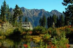 Het meer van het beeld stock foto's