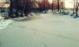 Het meer van het ijs Royalty-vrije Stock Foto