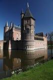 Het meer van het kasteel royalty-vrije stock afbeelding