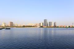 Het meer van het oosten haicang in de lentefestival van 2016 Stock Foto's