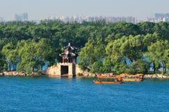 Het meer van het Paleis van de Zomer van Peking Royalty-vrije Stock Afbeeldingen