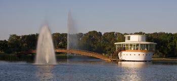 Het meer van het park Royalty-vrije Stock Fotografie