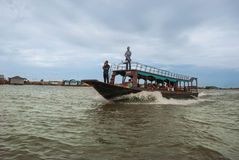 Het meer van het Sap van Tonle Stock Afbeeldingen