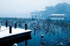 Het Meer van het Westen van Hangzhou Stock Foto