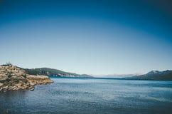 Het Meer van Huapi van Nahuel Royalty-vrije Stock Afbeeldingen