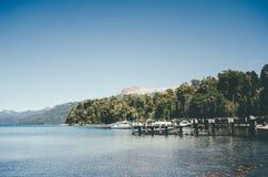 Het Meer van Huapi van Nahuel Royalty-vrije Stock Afbeelding