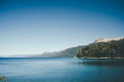 Het Meer van Huapi van Nahuel Stock Foto's