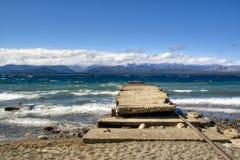Het meer van Huapi van Nahuel in Bariloche, Argentinië Royalty-vrije Stock Afbeeldingen