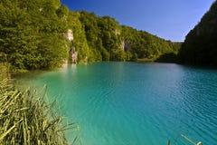 Het meer van Kaluderovo royalty-vrije stock afbeelding