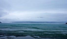 Het meer van Kathleen tijdens verbreken op de yukongebieden Royalty-vrije Stock Fotografie