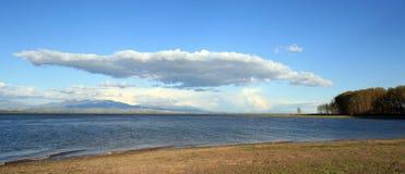 Het meer van Kerkini Royalty-vrije Stock Foto's