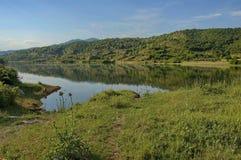 Het meer van Kerkini bij nord Griekenland Stock Afbeelding