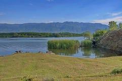 Het meer van Kerkini bij nord Griekenland Royalty-vrije Stock Afbeelding