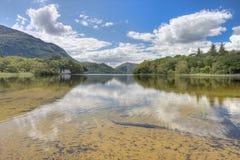 Het meer van Killarney in Nationaal Park - Ierland. Stock Foto's