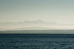 Het Meer van Konstanz toneel Stock Foto's