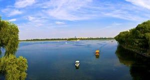 Het Meer van Kunming Stock Afbeeldingen