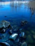 Het meer van Lapland royalty-vrije stock foto's