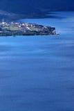 Het Meer van Lugu Stock Foto