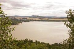 Het meer van Machovo Stock Foto
