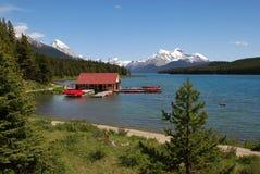 Het meer van Magline stock foto