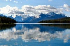 Het Meer van Maligne, het Nationale Park van de Jaspis, Canada Stock Fotografie