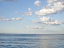 Het Meer van Michigan Royalty-vrije Stock Foto's