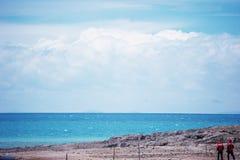 Het Meer van Namtso Stock Foto