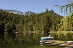 Het meer van Oostenrijk Toplitzsee Stock Foto