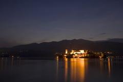 Het meer van Orta Royalty-vrije Stock Fotografie