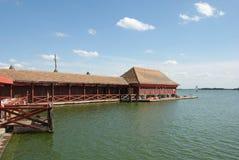 Het meer van Palic royalty-vrije stock afbeeldingen