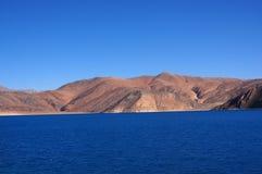 Het meer van Pangong Royalty-vrije Stock Afbeeldingen