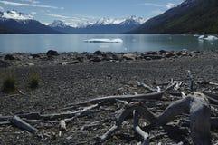 Het Meer van Patagonië royalty-vrije stock foto