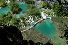 Het meer van Plitvice Royalty-vrije Stock Foto's
