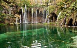Het Meer van Plitvice Stock Foto