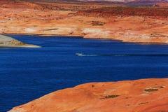 Het meer van Powell Royalty-vrije Stock Afbeelding