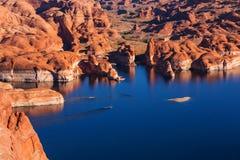 Het meer van Powell stock afbeeldingen