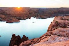 Het meer van Powell Royalty-vrije Stock Afbeeldingen